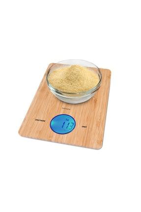 GOLDMASTER Gm-7131 Bambu Mutfak Terazisi