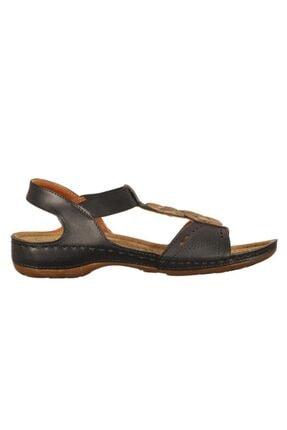 Polaris Kadın Siyah Sandalet
