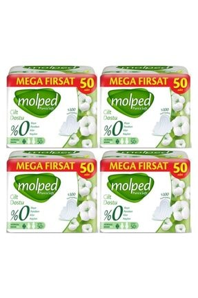 Molped Pure & Soft Mega Fırsat Normal 4 X 50:200 Adet