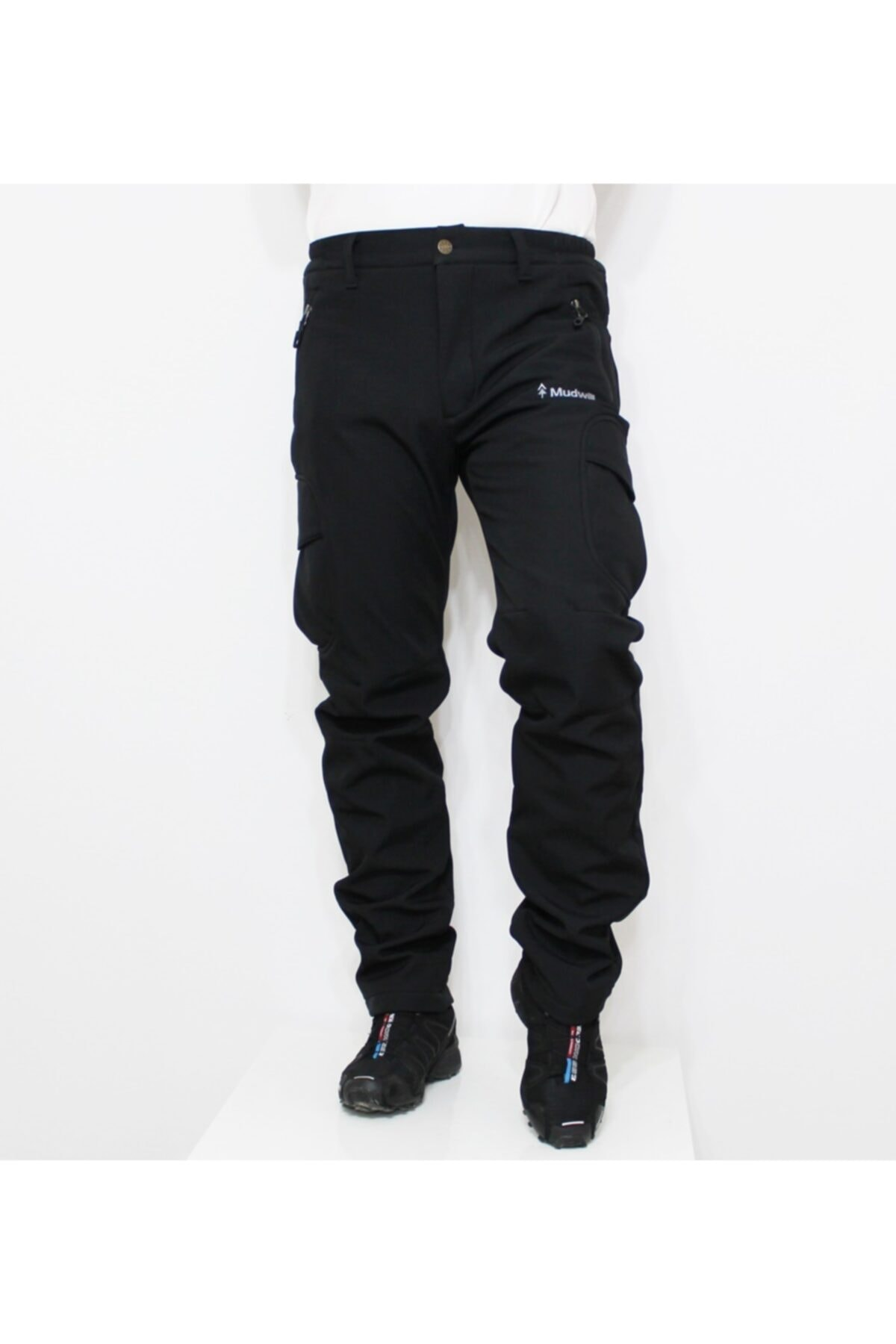 Mudwill Softshell Erkek Pantolon Siyah 300201 1