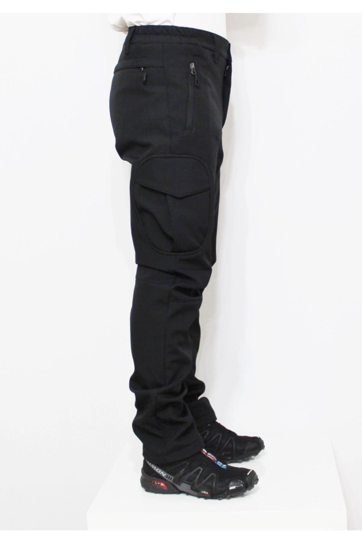 Mudwill Softshell Erkek Pantolon Siyah 300201 2