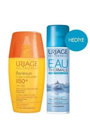 Uriage Bariesun Spf50+ Fluide Ultra Light 30ml | 50ml Termal Su Hediyeli