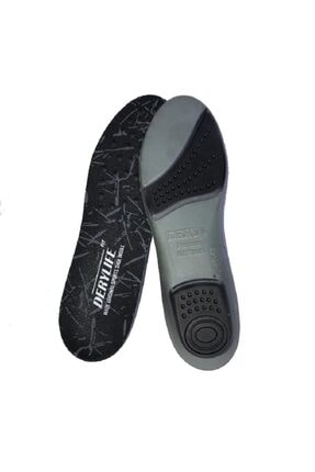 DeryLife Topuk Destekli Ortopedik Kumaş Ayakkabı Tabanı