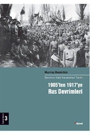 Dipnot Yayınları 1905'ten 1917'ye Rus Devrimleri 3.cilt & Devrimci Halk Hareketleri Tarihi