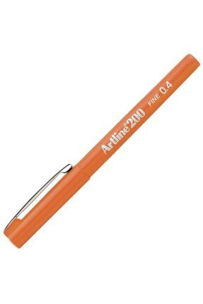 artline Artlıne Ek-200n Fıne Lıne Pen 0.4 Mm Orange