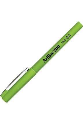artline Artlıne Ek-200n Fıne Lıne Pen 0.4 Mm Yellow Green