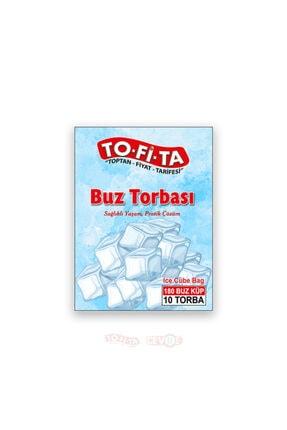 TO-Fİ-TA toptanfiyattarifesi Buz Torbası 10 Torba (180 Küp)