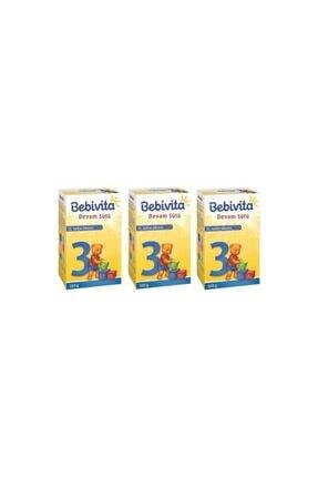 Bebivita 3 Devam Sütü 500 Gr X 3 Adet