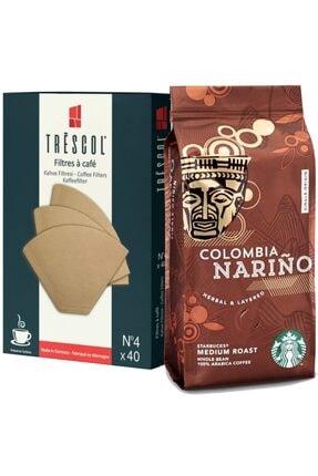 Starbucks Colombia 250gr Öğütülmş +trescol Kahve Filtre 4no 40'lı