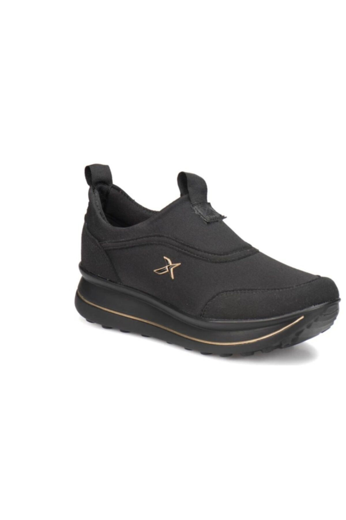 Kinetix Kadın Siyah Pauleta Spor Ayakkabı 1