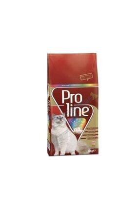 Pro Line Renkli Taneli Tavuklu Yetişkin Kuru Kedi Maması 15 Kg