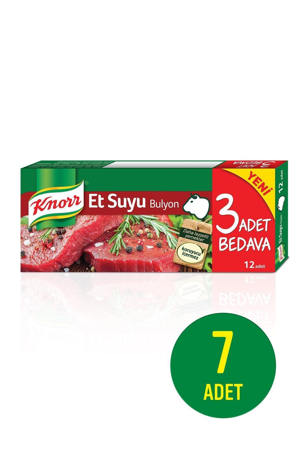 Knorr Et Bulyon 12'li 120 Gr X 7 Adet 1
