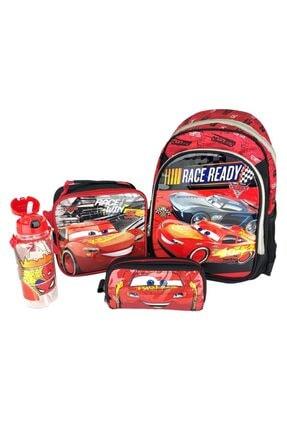 Hakan Çanta Cars Şimşek Mac Queen Okul Seti-çanta-beslenme-suluk-kalemlik