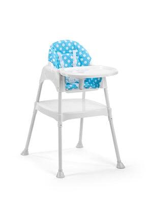 Moje Çok Fonksiyonlu Mama Sandalyesi - Kılıflı Mavi