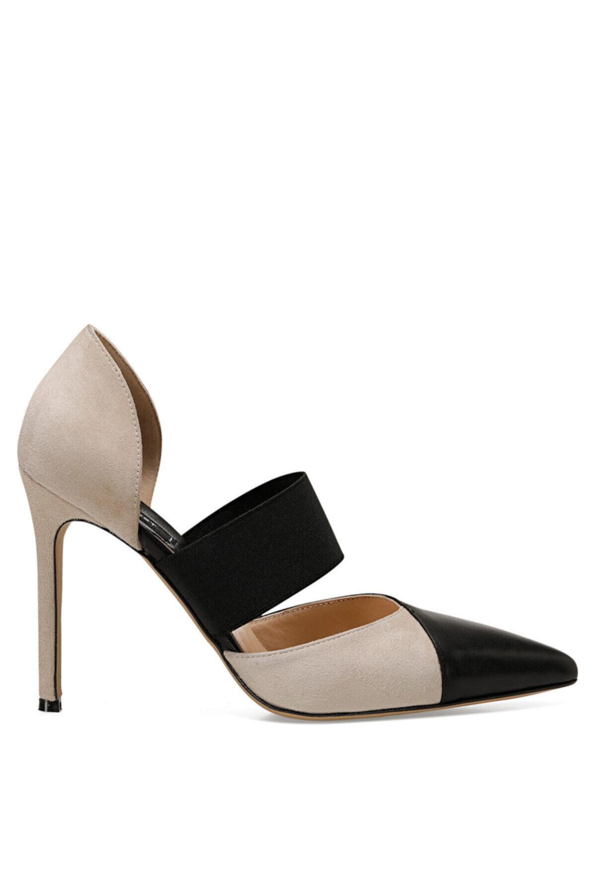 Nine West BEYONA Bej Kadın Hakiki Deri Topuklu Ayakkabı 100526372 1