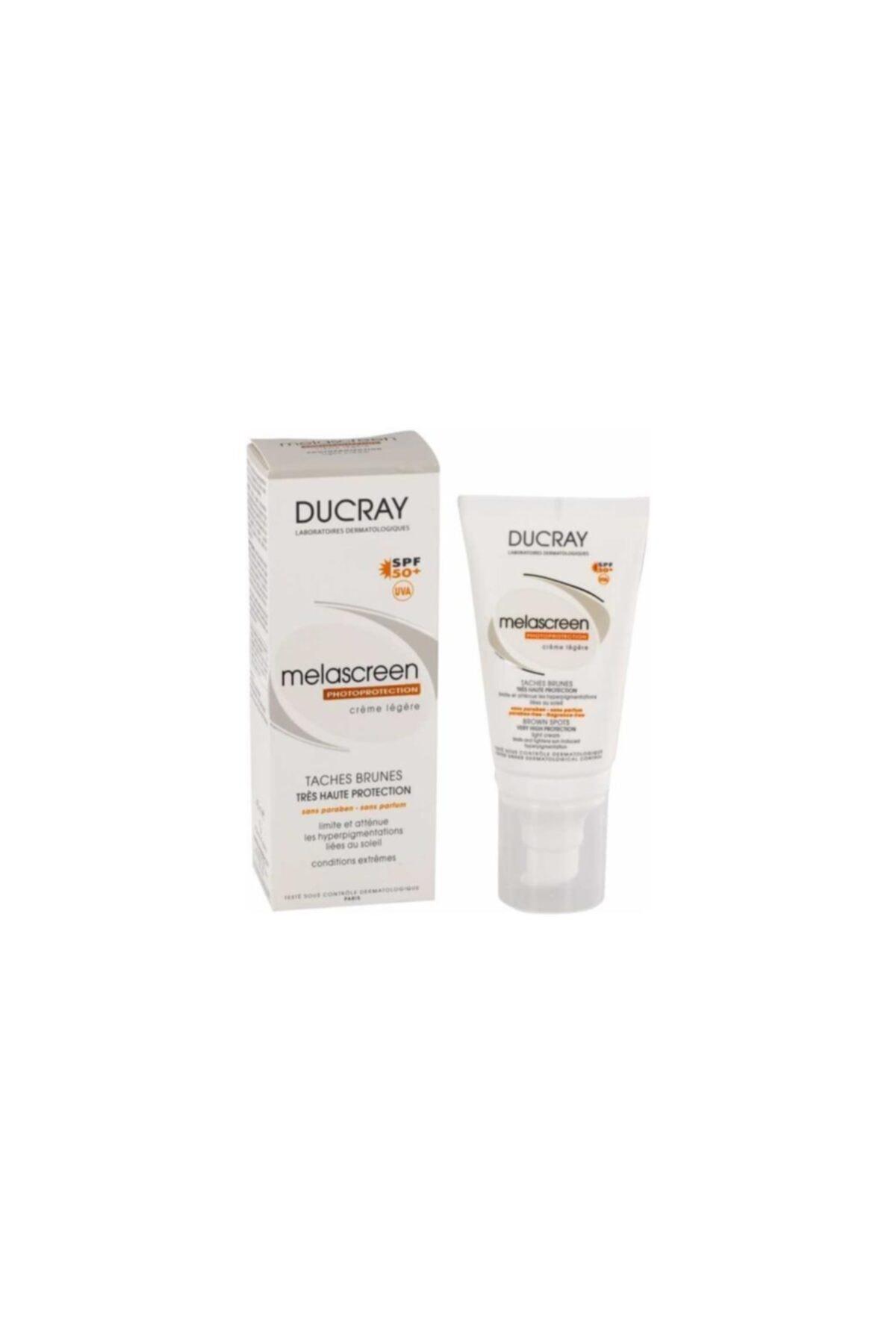 Ducray Melascreen Creme Solaire Spf 50 Yüksek Korumalı Güneş Kremi Legere - 30 Ml 1