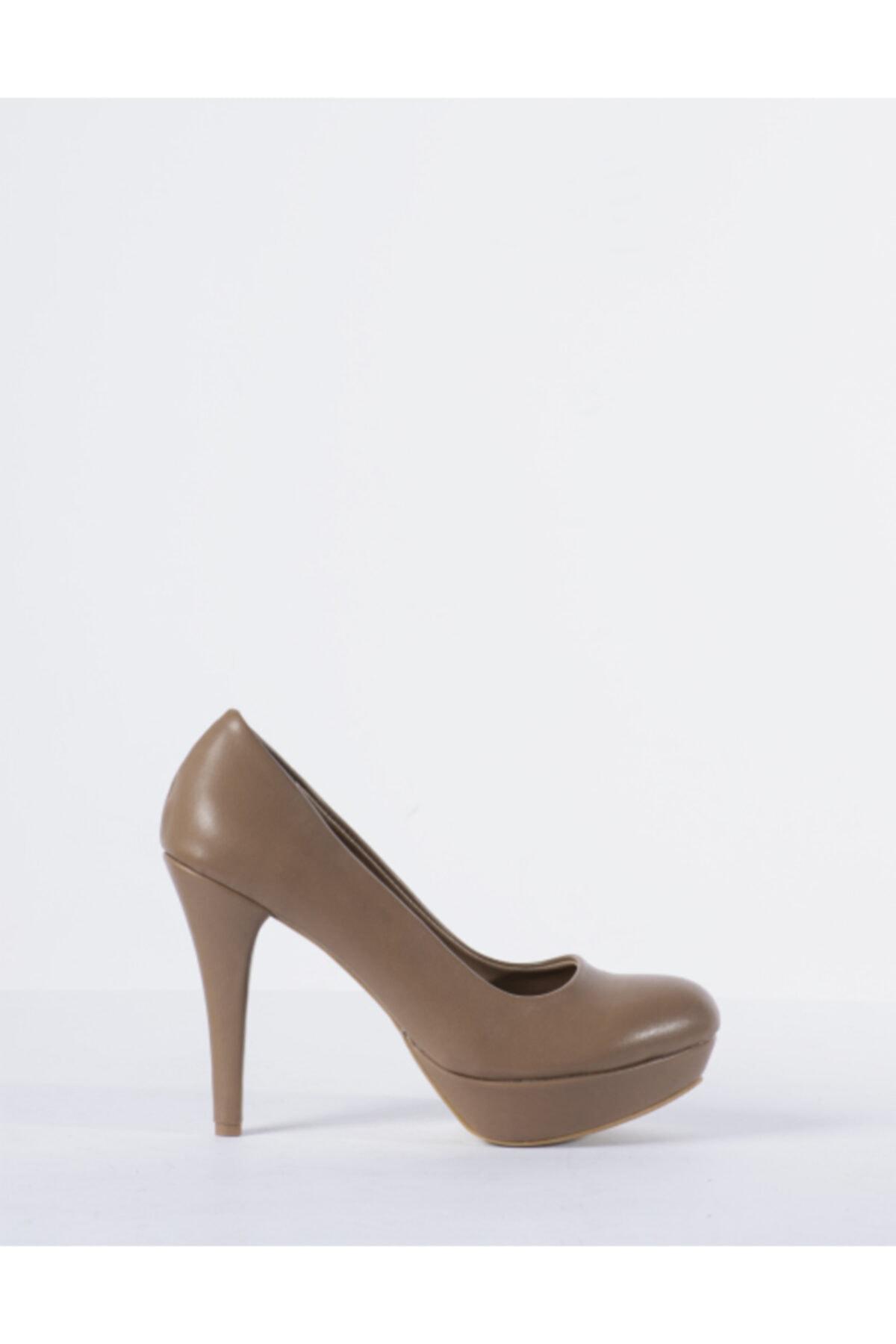 Vision Kadın Vizon Topuklu Ayakkabı 1