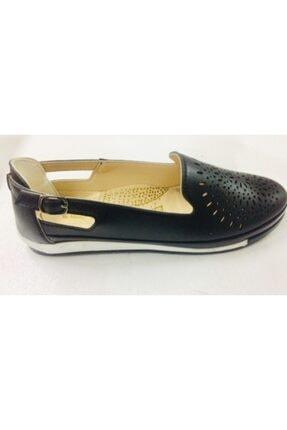 Barbour Kadın Siyah Ayakkabı Ortapedi Confort
