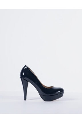 Vision Kadın Lacivert Topuklu Ayakkabı