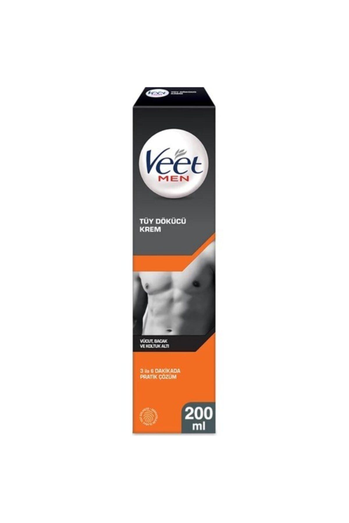 Veet Men Erkeklere Özel Tüy Dökücü Krem 200 ml 1
