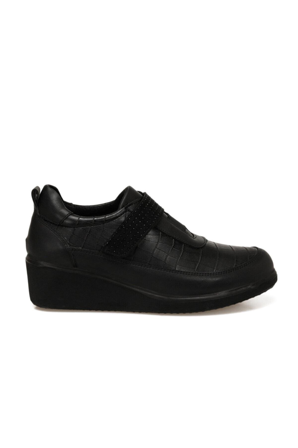 Polaris 161395.Z Siyah Kadın Comfort Ayakkabı 100548504 2