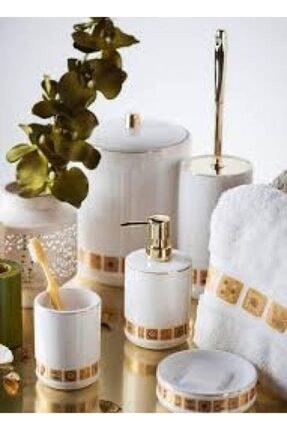Prima Nova Sarı Banyo Seti 5 Parça