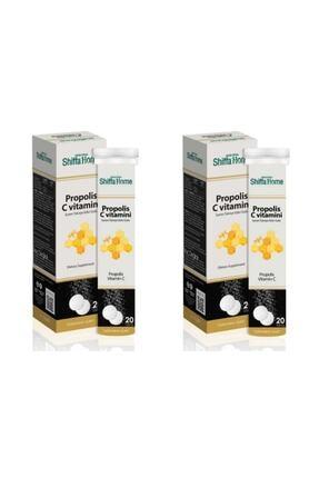 Shiffa Home Propolis & C Vitamini Efervesan 20 Tablet X 2 Adet