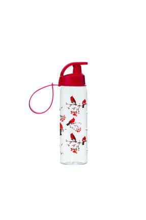 Herevin Kırmızı Kuş Desenli Matara 161415-330