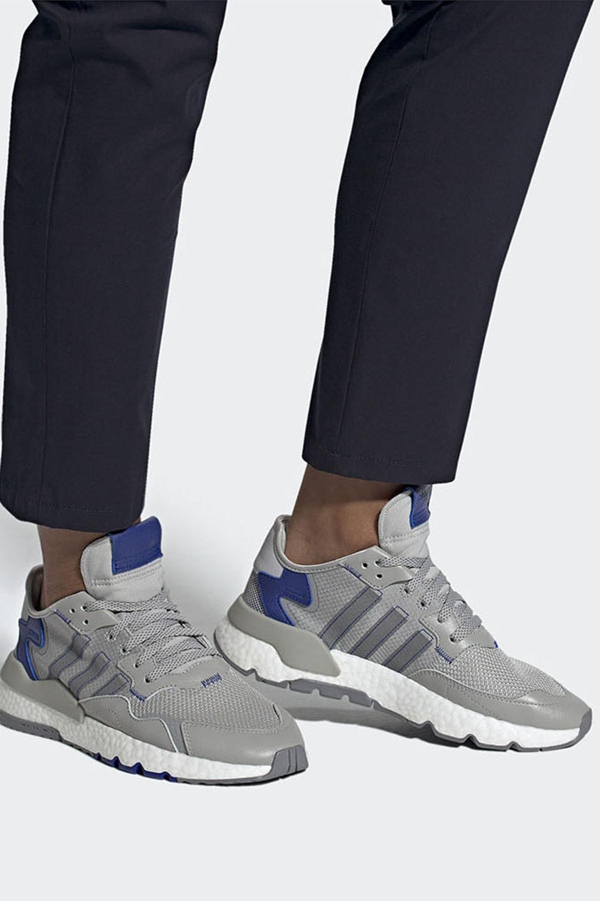 adidas Erkek Günlük Spor Ayakkabı Nite Jogger Fw2056 2