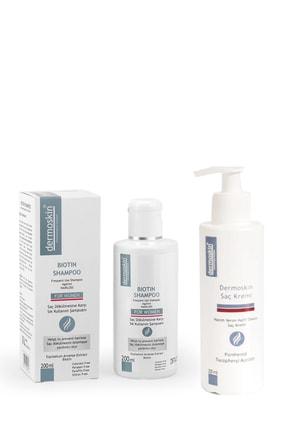 Dermoskin Biotin Şampuan (kadın) + Saç Kremi Hediyeli Avantaj Paket 200 Ml
