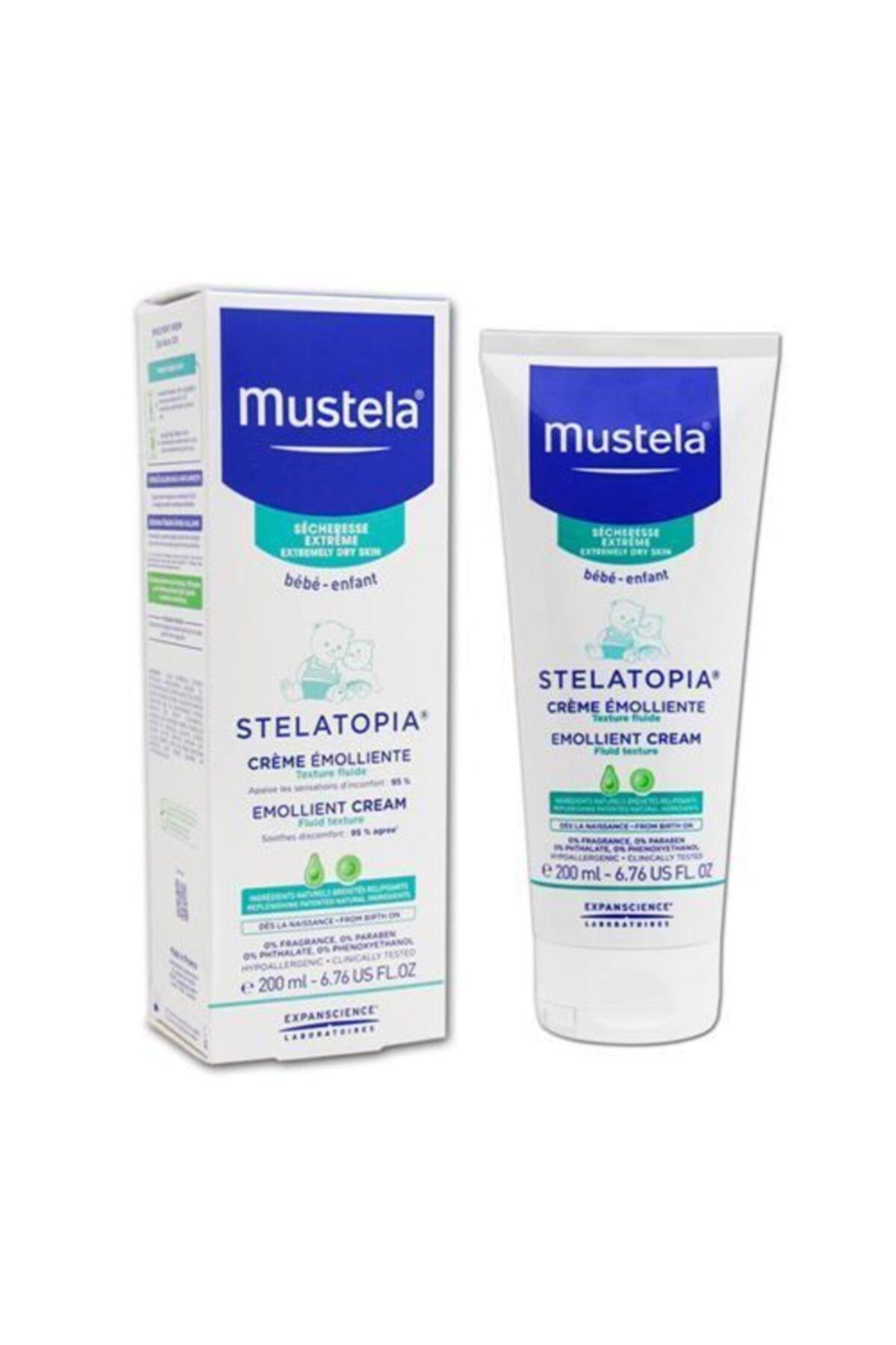 Mustela Stelatopia Emollient Cream Nemlendirici 200 ml 1