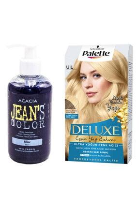Palette Deluxe Uıl Ultra Yoğun Renk Açıcı Acacia Mavi Saç Boyası