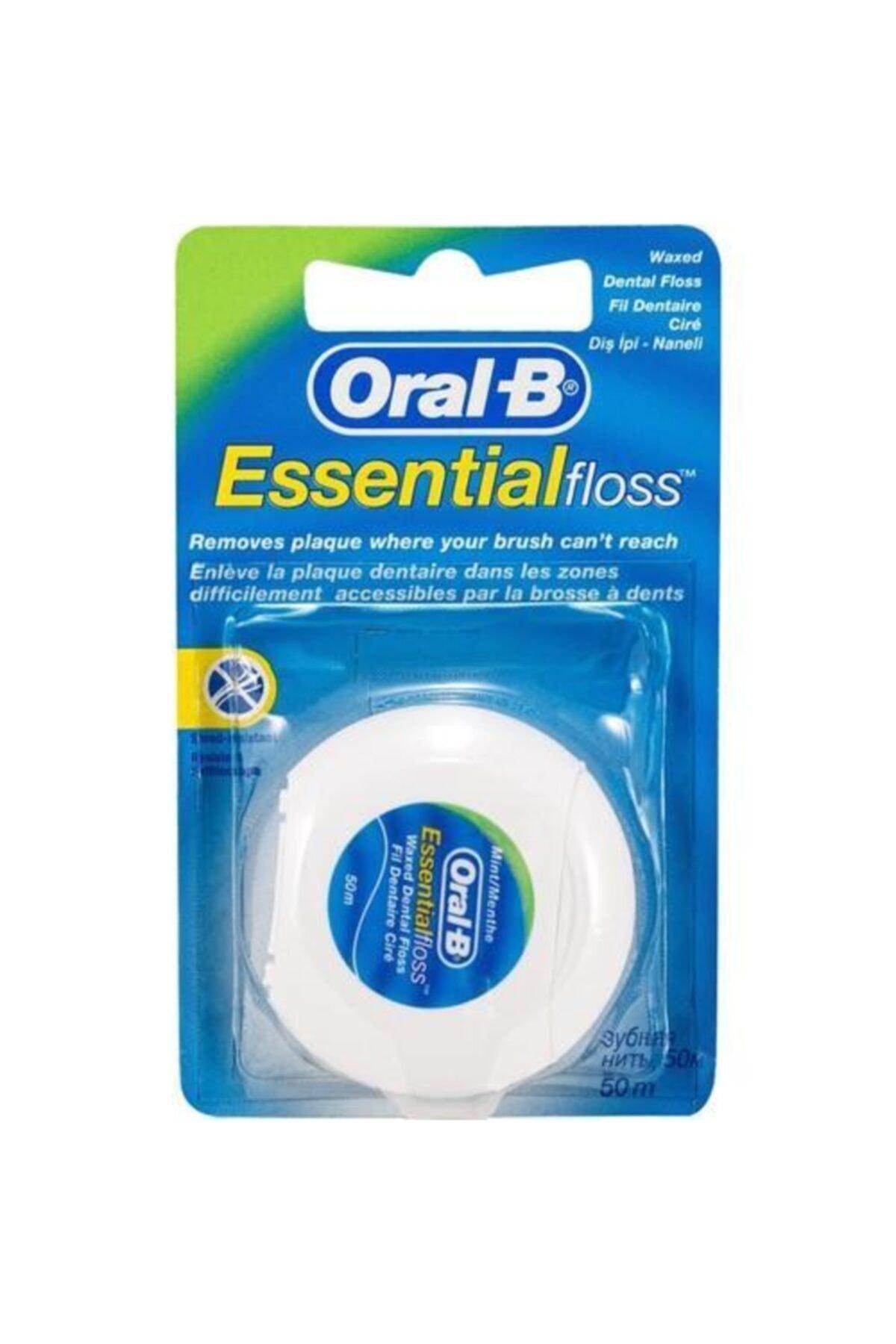 Oral-B Essential Floss Diş İpi 50 m 1