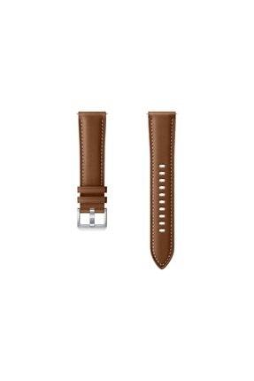 Samsung Galaxy Watch Active 3 (41mm) Deri Kayış - Kahverengi