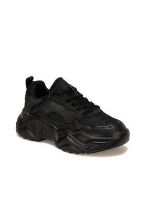 Kinetix Shag Siyah Kadın Sneaker