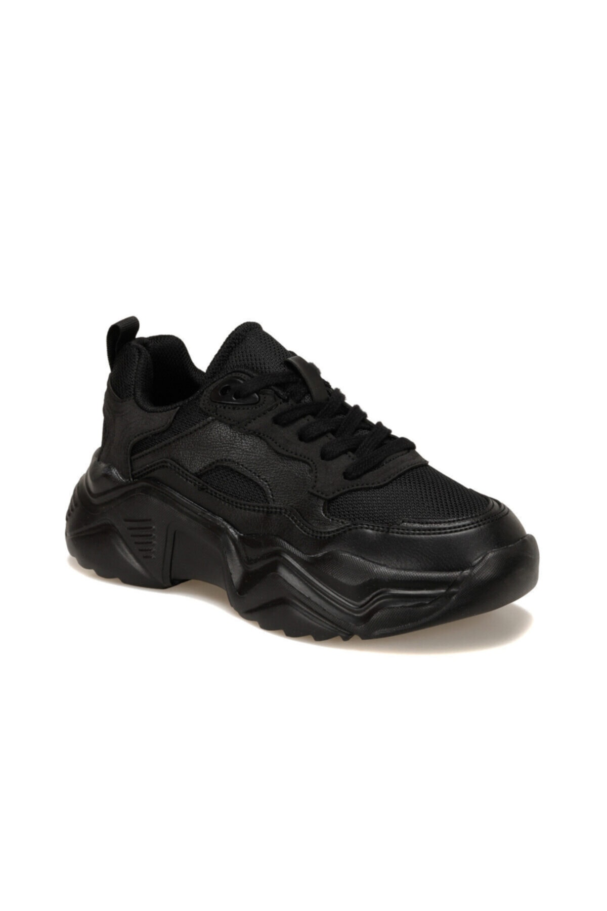 Kinetix SHAG Siyah Kadın Sneaker 100539701 1