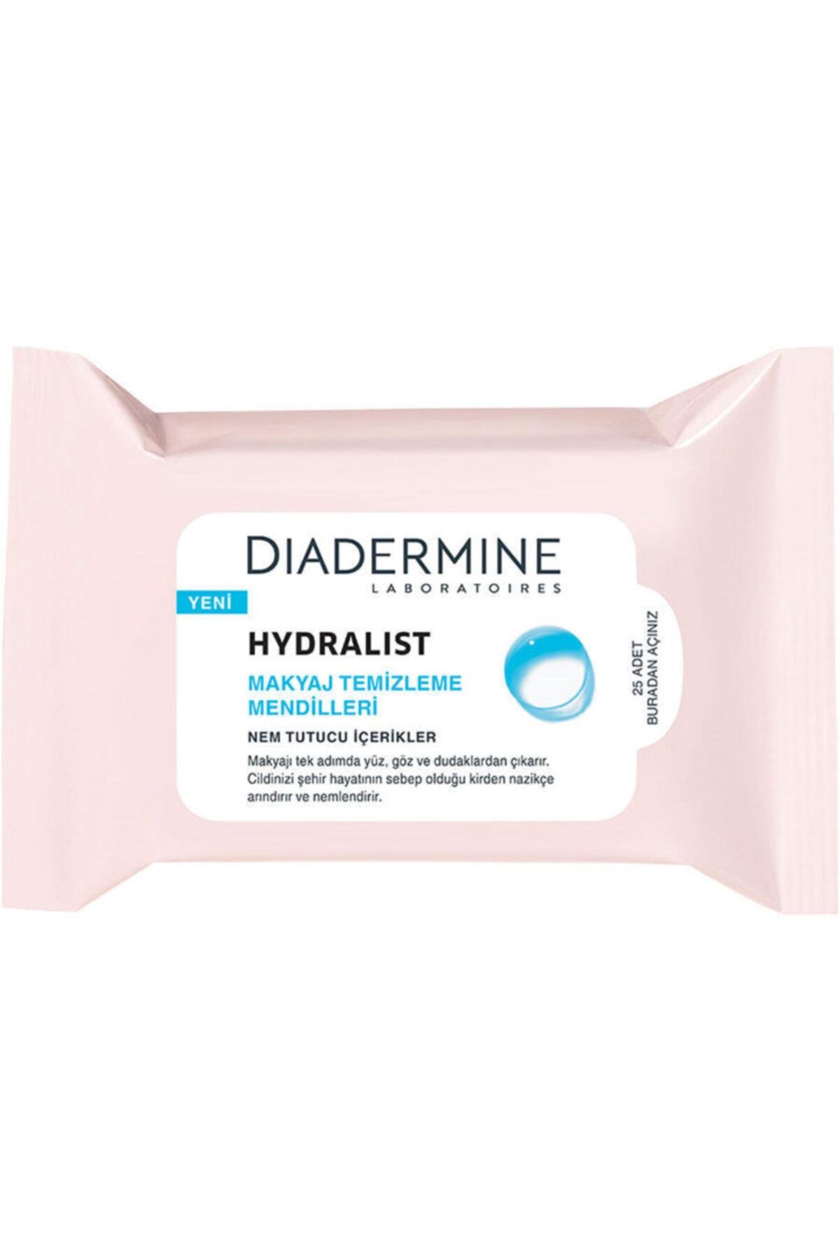 Diadermine Hydralist Yüz Temizleme Mendili 25 Adet 1