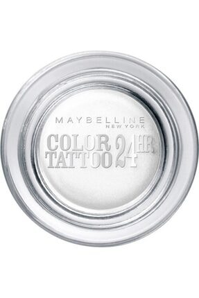 Maybelline New York Eyestudio 24 Hr Color Tattoo Gel Cream Eyeshadow 45 Infinite White