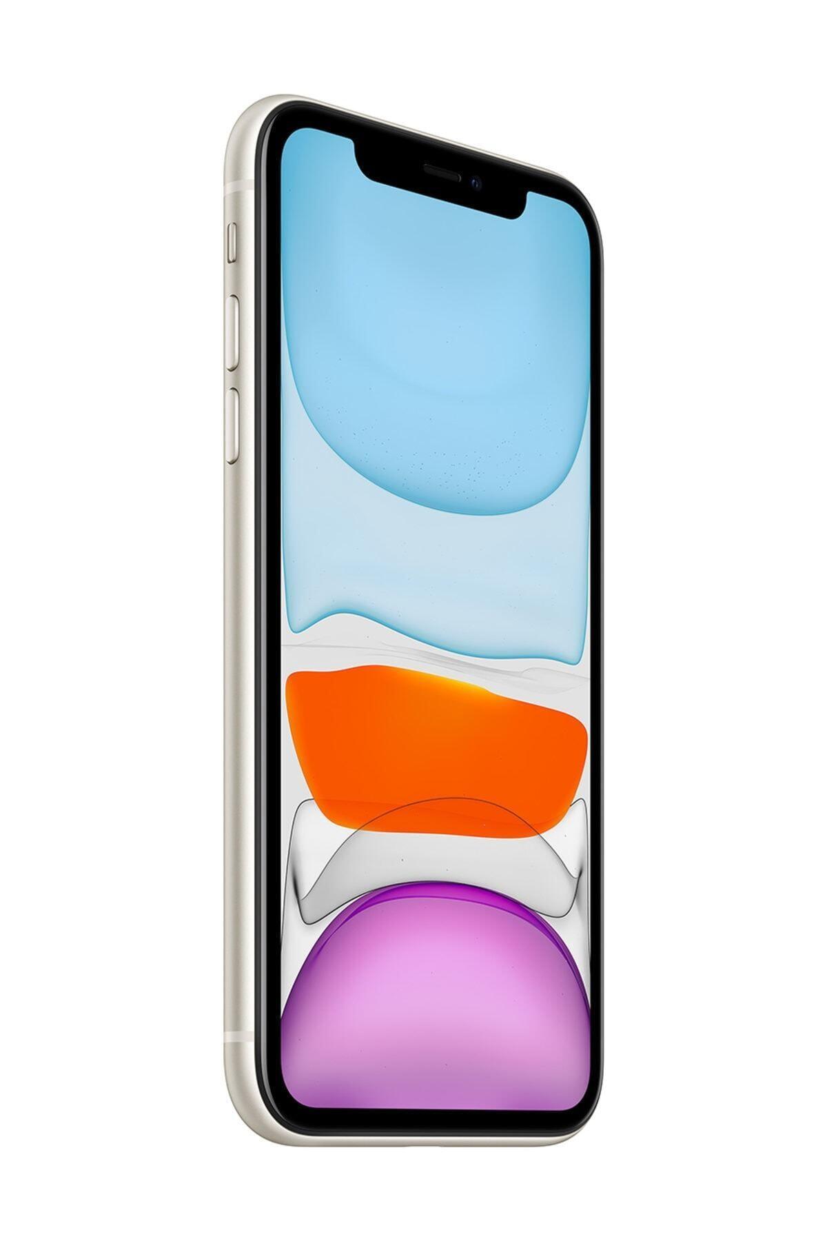 Apple iPhone 11 64GB Beyaz Cep Telefonu (Apple Türkiye Garantili) Aksesuarlı Kutu 2