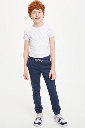 DeFacto Erkek Çocuk Bağcıklı Jogger Dokuma Pantolon