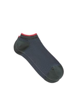 Mavi Yeşil Patik Çorap