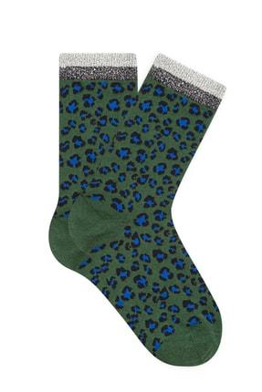 Mavi Kadın Yeşil Soket Çorap 197999-32134