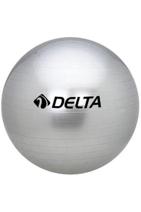 Delta 65 cm Silver Dura-strong Deluxe Pilates Topu