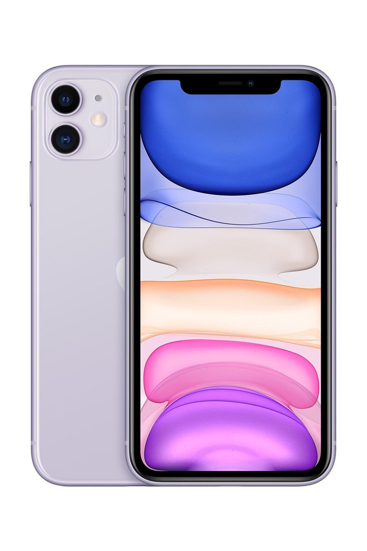 Apple iPhone 11 128GB Mor Cep Telefonu (Apple Türkiye Garantili) Aksesuarlı Kutu 1