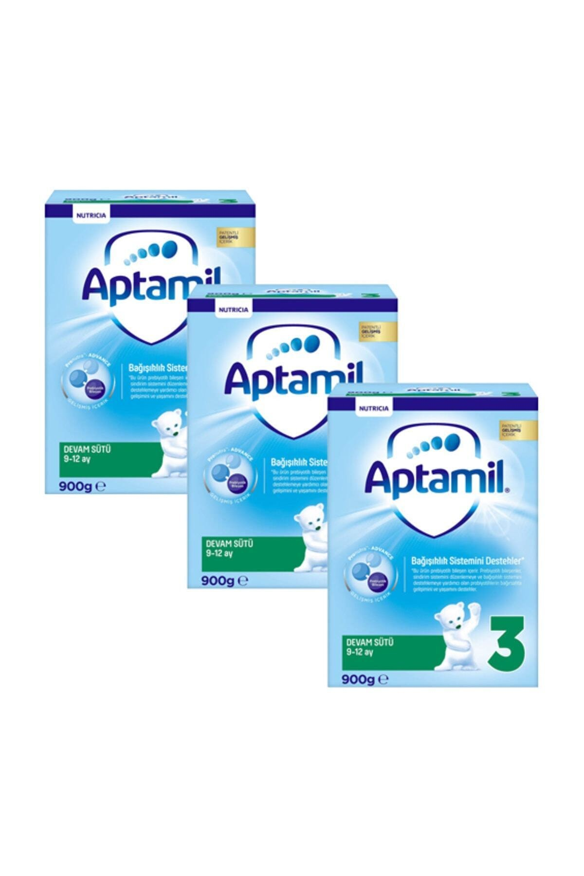 Aptamil Devam Sütü 3 Numara 900 gr x 3 Adet 1
