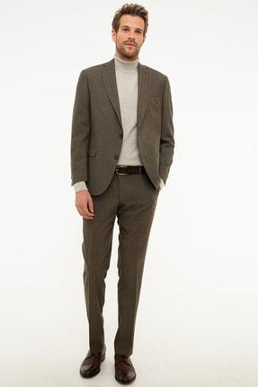 Pierre Cardin Erkek Kahverengi Slim Fit Takım Elbise G021GL001.000.968534