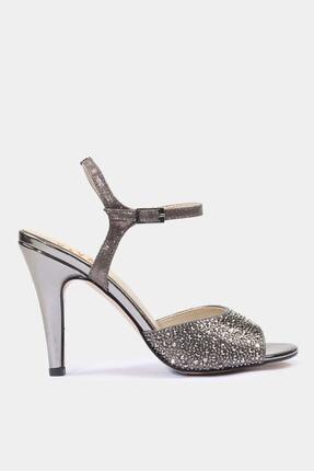 Hotiç Kadın Yaya Platin Klasik Topuk Abiye Ayakkabı