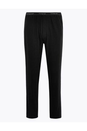 Marks & Spencer Erkek Siyah Luxury Supersoft Supima® Pijama Altı