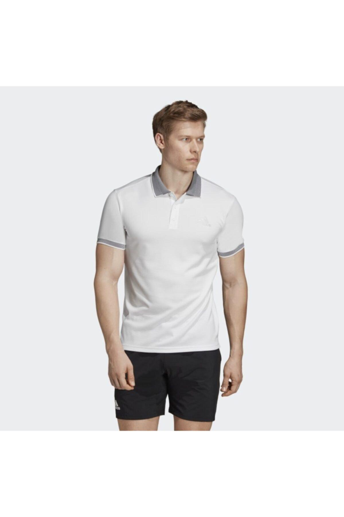 adidas Erkek Beyaz T-shirt 1