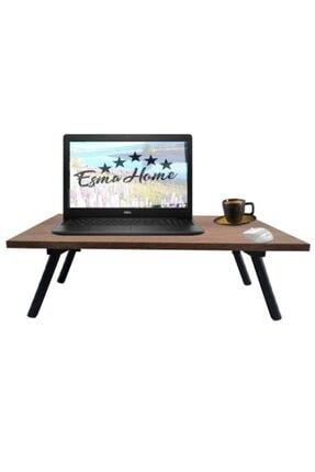 EsmaHome Servis Sunum Sehpası Laptop Sehpası Katlanır Ayaklı Sehpa